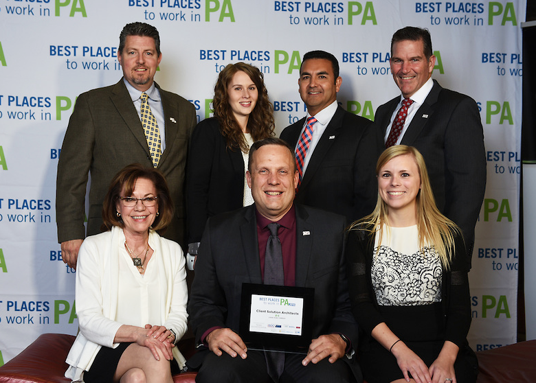 Best Places to work in PA Award Picture